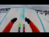 Прыжки на горных лыжах